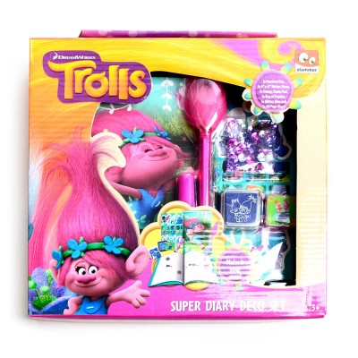 TROLLS DNEVNIK SUPER SET