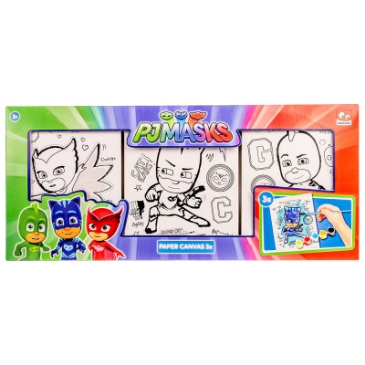 PJ MASKS  SLIKARSKI SET 3X
