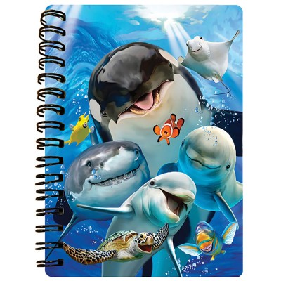 3D NOTEBOOK A6 50L - HR - OCEAN SELFIE