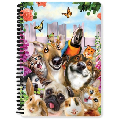 3D NOTEBOOK A5 80L - HR - PET SELFIE