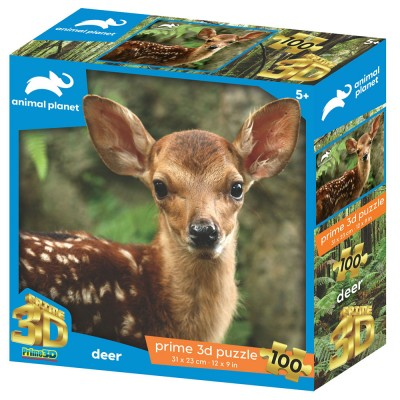 SESTAVLJANKA 3D - BAMBI 100 KOS 31x23cm ANIMAL PLANET