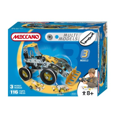 MECCANO MULTIMODELS 3-MODELA
