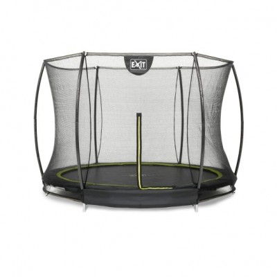 Vgradni trampolin Exit Silhouette Ground  |ø244 cm| -black-