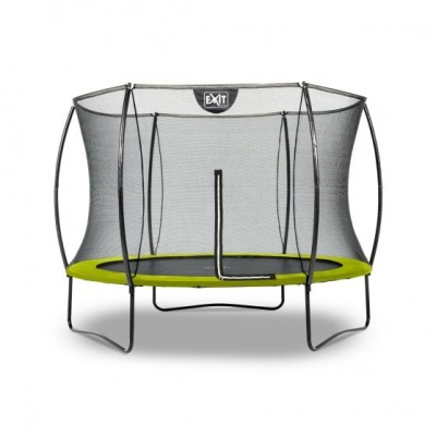 Trampolin Exit Silhouette  |ø244 cm| -green-