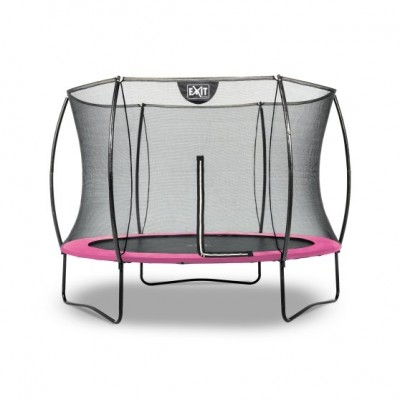 Trampolin Exit Silhouette  |ø244 cm| -pink-