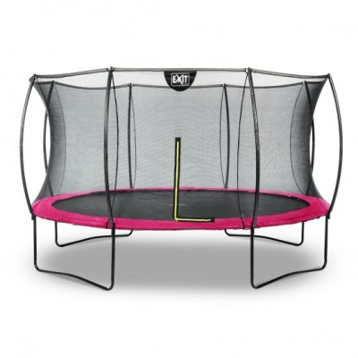 Trampolin Exit Silhouette |ø366 cm| -pink-