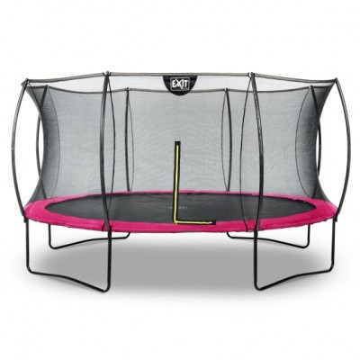 Trampolin Exit Silhouette |ø427 cm| -pink
