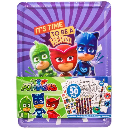 PJ MASKS KREATIVNI SET V ŠKATLI 50/1