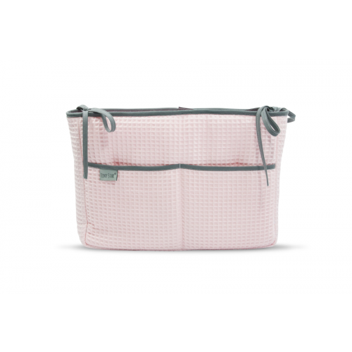 Posteljni organizator Powder Pink tiny star