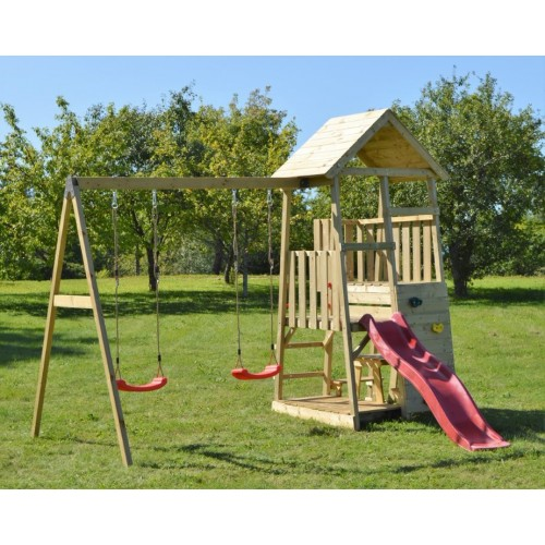 Igralni stolp Junior Activity Swing